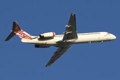 VH-FZO  Virgin Australia Fokker 100 (johnedmond) Tags: perth ypph westernaustralia virgin fokker f100 australia aircraft aviation aeroplane airplane airliner plane canon eos7d ef100400mmf4556lisiiusm