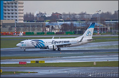 SU-GEH Boeing 737-866(W) Egyptair (elevationair ✈) Tags: ams eham amsterdam holland thenetherlands europe avgeek aviation airplane aircraft airlines airline egyptair 85th 85thanniversary boeing 737 738 boeing737866w sugeh