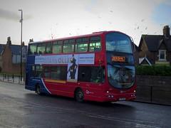Go North East 6902 (LX06EBA) - 09-01-19 (peter_b2008) Tags: goaheadgroup gonortheast goaheadlondon londoncentral volvo b7tl wright eclipsegemini 6902 wvl253 lx06eba sunderland buses coaches transport buspictures