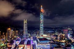 Taipei 101 Building (Jennifer 真泥佛) Tags: taipei101 台北101 信義區 taipei taiwan landscape night nightview building taipei101building 台北 台北市 台北一零一 信義商圈 微風南山 微風信義 微風百貨 新光三越 新光三越百貨 商圈 都會生活