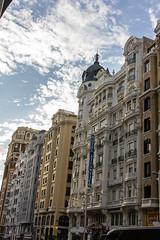 Hotel Atlantico antiguo dueño Marques de Falces arquitecto Joaquín Saldaña 1921 Gran Via 38 Madrid 03 (Rafael Gomez - http://micamara.es) Tags: esp españa granvia madrid hotel atlantico antiguo dueño marques de falces arquitecto joaquín saldaña 1921 gran via 38