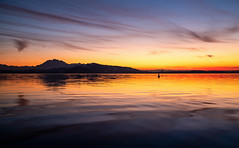 Afterglow (Hegglin Dani) Tags: zug zugersee switzerland schweiz sunset sonnenuntergang sun clouds wolken afterglow abendrot abendstimmung eveningmood sonne