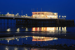 2018_05_06_0265 (EJ Bergin) Tags: sussex westsussex landscape worthing sunset beach sea seaside worthingpier seafront bluehour southernpavillion reflection