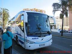 "2018 030702 VOLVO B9R IRIZAR COACH PARAJA VELEZ MALAGA 118 1573 HKD IN BENALMADINA (Andrew Reynolds transport view) Tags: europe spain andalucia transport bus coach transit passenger omnibus diesel ""mass transit"" 2018 030702 volvo b9r irizar paraja velez malaga 118 1573 hkd in benalmadina"