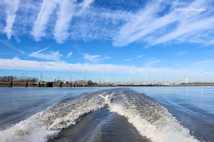 "Ride on the ""Waterbus"" @ Antwerp (Fabke.be) Tags: waterbus antwerp antwerpen schelde water sky boat ship belgian belgium belgië belgique bluesky clouds nature canon canon7d canon7dmkii canon175528"