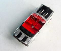 Corgi Toys No. 343 Pontiac Firebird 1969 With Red Spot Wheels : Diorama Futuristic Double Moon - 10 Of 13 (Kelvin64) Tags: corgi toys no 343 pontiac firebird 1969 with red spot wheels diorama futuristic double moon