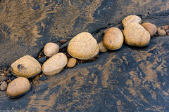 Sandstone rocks (Donard850) Tags: england saltwickbay uk yorkshire coast pebbles rocks sandstone seashore wavecutplatform