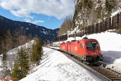 ÖBB Rh 1116 044 (Bradley Morey) Tags: öbb sbb cff ffs rh 1116 1016 siemens taurus es64u2 wald am arlberg eurocity eurosprinter österreich austria trainspotting train photography