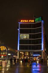 Rainy Night in Gothenburg (Rudi Pauwels) Tags: 2019onephotoeachday 52in2019challenge avalon saluhallen kungstorget kungsportplatsen evening night highiso iso800 reflections hotell hotel arainyday rainyevening
