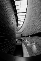 Curved Walls And Windows (k009034) Tags: 500px window baltic countries copy space estonia kumu tallinn tranquil scene architecture brick ceiling corridor curve indoors lamp light lines modern museum no people railing travel destinations walkway wall perspective concrete monochrome steel step diminishing teamcanon balticcountries copyspace tranquilscene nopeople traveldestinations