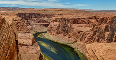 Colorado River at Horseshoe Bend (David Hamments) Tags: arizona verticalpanorama coloradoriver page horseshoebend fantasticnature
