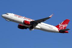 Virgin America   Airbus A320-200   N284VA   Los Angeles International (Dennis HKG) Tags: aircraft airplane airport plane planespotting canon 7d 100400 losangeles klax lax virginatlantic virgin vir vs airbus a320 airbusa320 sharklets n284va