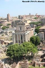 2007 Il Tempio di Antonino e Faustina a (Roma ieri, Roma oggi: Raccolta Foto de Alvariis) Tags: fororomanoiltempiodiantoninoefaustina fotoalvaroedelisabettadealvariis 2007 rionecampitelli roma rome lazio italy
