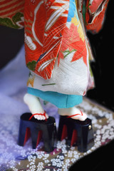 Thistle Tayu Geta (10) (Bright Wish Kanzashi) Tags: bjd bjdkimono dollchateau hybridbjd thistle dollchateauhybrid dearminehybrid bjdfeet bjdfeetmod bjdgeta bjdshoes bjdmod