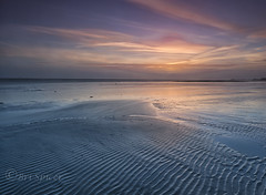 Ridge cut (Through Bri`s Lens) Tags: worthing worthingpier sunset beachphotography sun sand sea lowtidereflection brianspicer canon5dmk3 canon1635f4