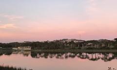 #LakeMerced #SanFrancisco (Σταύρος) Tags: iphone7plus walk walking cardio exercise newyear'sday january1 thelake sunset pink orange lakemerced sanfrancisco