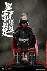 COOMODEL 20181215 CM-SE041 Black Cattail Armor of Oda Nobunaga 织田信长黑系南蠻胴具足 - 05 (Lord Dragon 龍王爺) Tags: 16scale 12inscale onesixthscale actionfigure doll hot toys coomodel samurai