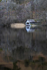 Boathouse (l4ts) Tags: landscape cumbria lakedistrict rydal rydalwater boathouse reflections