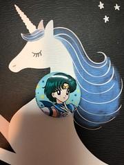 Sailor Mercury pin #sailormercury #cute #pin #hottopic #aw #anime #sailormoon (direngrey037) Tags: sailormercury cute pin hottopic aw anime sailormoon