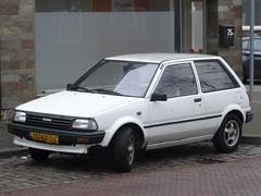 1988 Toyota Starlet (harry_nl) Tags: netherlands nederland 2019 breda toyota starlet ts67dr sidecode4