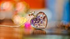 Jewelry - 6512 (ΨᗩSᗰIᘉᗴ HᗴᘉS +50 000 000 thx) Tags: jewelry jewel bijou fleur flora heart fuji fujifilmgfx50s fujifilm bokeh color belgium europa aaa namuroise look photo friends be yasminehens interest eu fr greatphotographers lanamuroise flickering macro