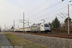 183 500-8 Railadventure Leipzig Engelsdorf 28.02.2019 (2) (Jens Mittwoch) Tags: radv münchen sonderzug testzug messzug taurus 3 siemens ochse stier u4 zug eisenbahn train