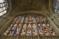 King's College Chapel Stained Glass (Bri_J) Tags: cambridgeuniversity cambridge cambridgeshire uk university nikon d7500 kingscollegechapel stainedglass kingscollege chapel window church