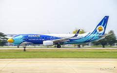 Nok Air HS-DBP Boeing 737-800 (Kan_Rattaphol) Tags: aircraft airplane airlines boeing b737 b737800 dd nokair nokairlines vtbd dmk donmuangairport hsdbp