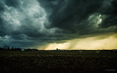 storm field (Jen MacNeill) Tags: weather lancaster county country rural pa pennsylvania countryside cold front storm evening sky skies clouds cloudy