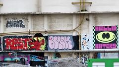 Resto / Hello Haters  / DOK - 12 apr 2019 (Ferdinand 'Ferre' Feys) Tags: gent ghent gand belgium belgique belgië streetart artdelarue graffitiart graffiti graff urbanart urbanarte arteurbano ferdinandfeys