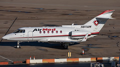 N811AM H25B AIR MED