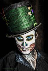 The Joker (Bob.Hurley - bobhurleyphoto.com) Tags: portrait thejoker mua makeupartist fantasy fantasyportrait colour green onelightsetup canon canoncanada 5dmkiii 2470f28ii