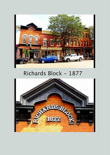 Brockport  New York  - Richards Block - Historic District