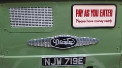 DSCF1475 (rugby#9) Tags: njw719e daimler wolverhamptoncorporation wythalltransportmuseum bus bammot wythall transport museum transportmuseum gb unitedkingdom worcestershire uk sign vehicle logo
