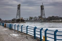 Port Colborne Ontario 2019 (John Hoadley) Tags: clarencestreetbridge portcolborne ontario 2019 february canon eosr 24105 f10 iso640 bridge railing