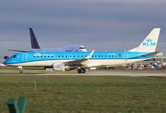 PH-EZS - KLM Cityhopper Embraer ERJ-190 (✈ Adam_Ryan ✈) Tags: dub eidw dublinairport 2019 klm phezs erj erj190 cityhopper