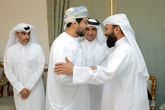 Warm welcome (Qatar Chamber) Tags: qatar oman chamber commerce delegation business