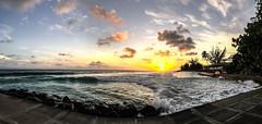 IMG_1139 (pwbaker) Tags: sunset caribbean sky beach barbados bridgetown vacation