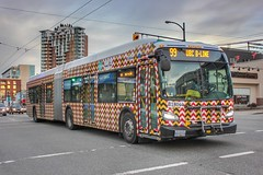 B18044 (timothy8610480) Tags: art articulatedbus britishcolumbia vancouver canada bus xcelsior newflyer transit canon photography cag translink