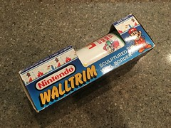 North American Decorative Products Super Mario Bros Nintendo Wall Trim 16 (gamescanner) Tags: north american decorative products super mario bros nintendo wall trim covering walltrim decor sculpted vinyl border upc 058559709011 058559709035 rosewall inc 1989 sku 70902