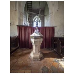 Font (badger_beard) Tags: st augustine canterbury burrough green cambridgeshire south cambs east newmarket parish church england font