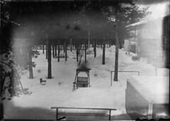 Dry plate test agfa chromo isorapid platter (Sonofsono) Tags: film finland agfa fkd soviet dry plate 5x7 13x18 black bw white largeformat snow winter