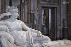 La Morbidezza del Marmo - Paolina Borghese come Venere vincitrice - Antonio Canova (Claudio De Rossi) Tags: museo galleria borghese bellini bernini canova sculture marmo roma italia paolina venere vincitrice