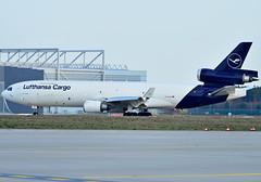 D-ALCB Lufthansa Cargo McDonnell Douglas MD-11 (czerwonyr) Tags: