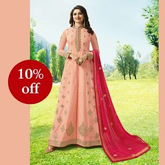 Designer Peach Anarkali Suit #YOYOFashion Online shopping. (yoyo_fashion) Tags: suits anarkalisalwarsuit anarkali anarkalisuit anarkalidress womenstyle fashion fashionstyles fashiongram style stylish stylist