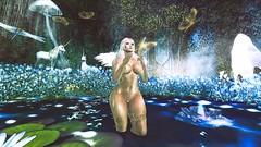 Feel free (Angel Neske) Tags: angel unicorn butterfly magic fantasy mythology water landscape sl