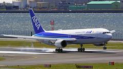 Boeing 767-381/ER, JA605A, All Nippon Airways (tkosada.mac) Tags: allnipponairways staralliance boeing b763 tokyointernationalairport hanedaairport hnd rjtt