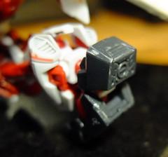 DSCF8040 (bensalzberg) Tags: gunpla gundam astray redframe bandai macro robot