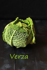 Verza (Giovanna-la cuoca eclettica) Tags: verza verdure vegetables veg healthy healthyfood green food stagioni stilllife