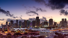 Miami Sunset (Mustang Joe) Tags: 2018 public cruise d750 caribbean newyears domain nikon